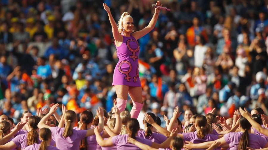 08.03.2020 - Katy Perry durante show em Melbourne, Austrália - Daniel Pockett/ICC via Getty Images