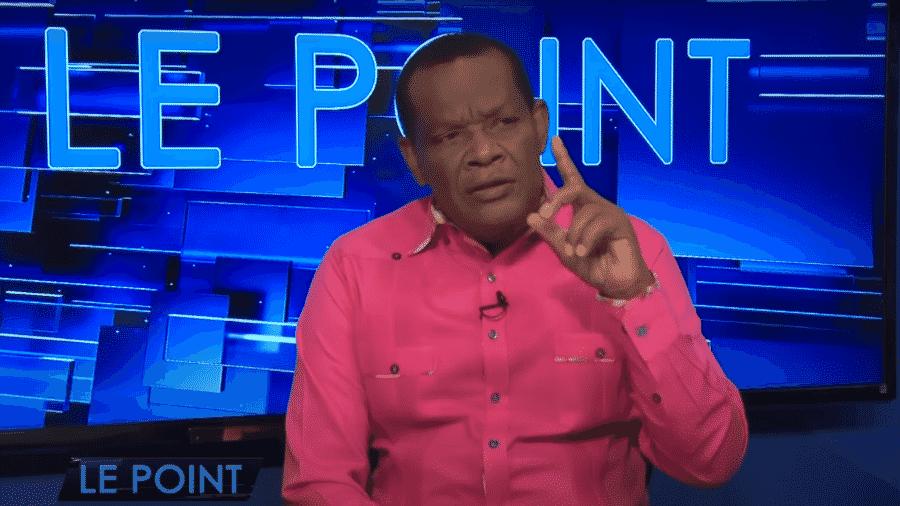 Presidente da federação do Haiti de futebol (FHF) desde 2000, Yves Jean-Bart - Reprodução/Youtube
