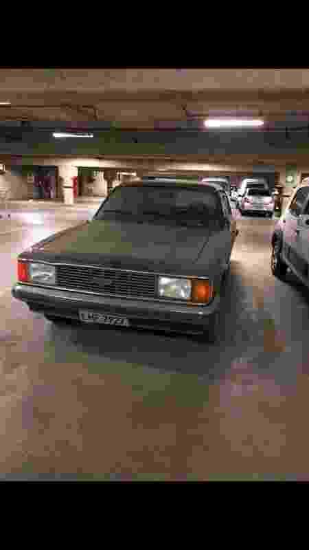 3Sskaters skatistas destroem Chevrolet Opala em supermercado Extra no Rio de Janeiro ainda inteiro - Arquivo pessoal - Arquivo pessoal