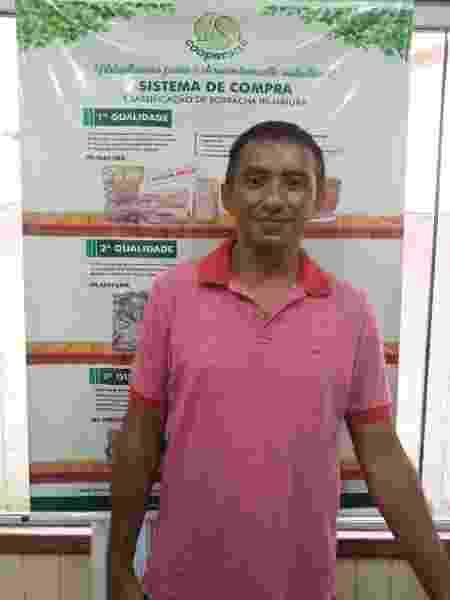Sebastiao Aquino, gerente da Cooperacre - Arquivo pessoal - Arquivo pessoal