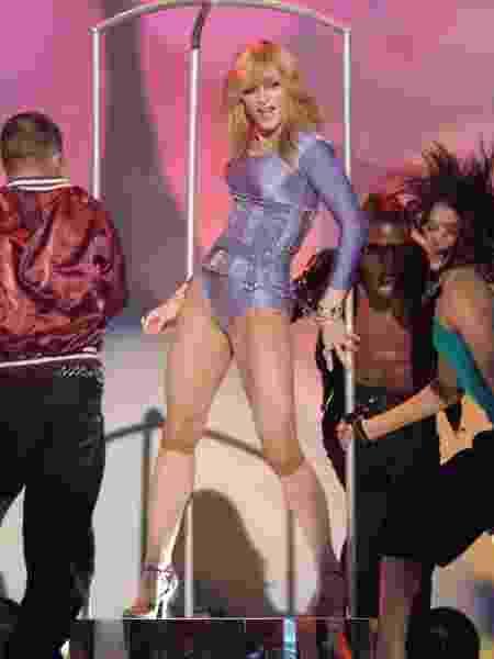 Madonna dança Hung Up - Michael Caulfield/Getty Images - Michael Caulfield/Getty Images