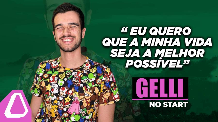Conheça a história do influencer e youtuber de Free Fire, Gelli Clash - Arte/UOL