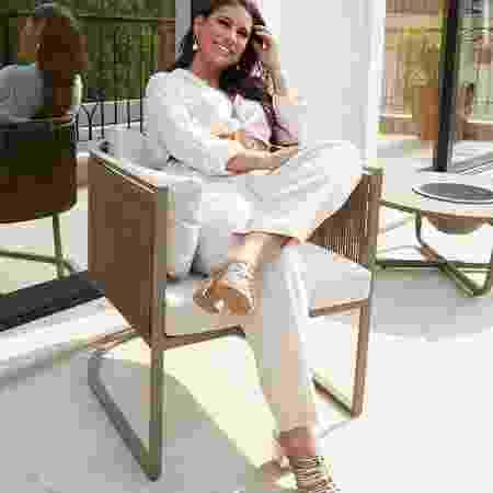 Dona de mansão em São Paulo, Simone afirmou que ajuda nos cuidados com a casa - Reprodução/Instagram