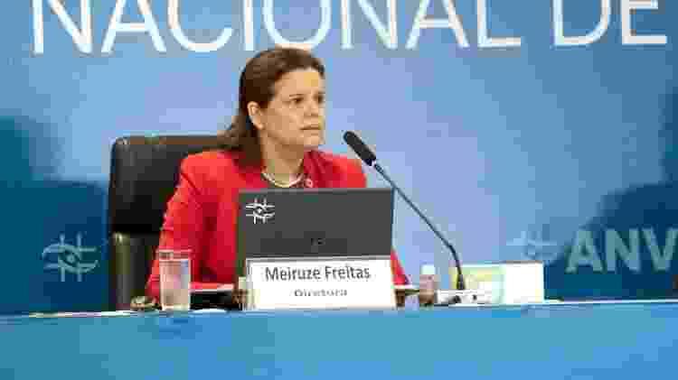 Meiruze está na Anvisa desde 2007, mas só no final de 2020 assumiu o cargo de diretora - Divulgação  - Divulgação