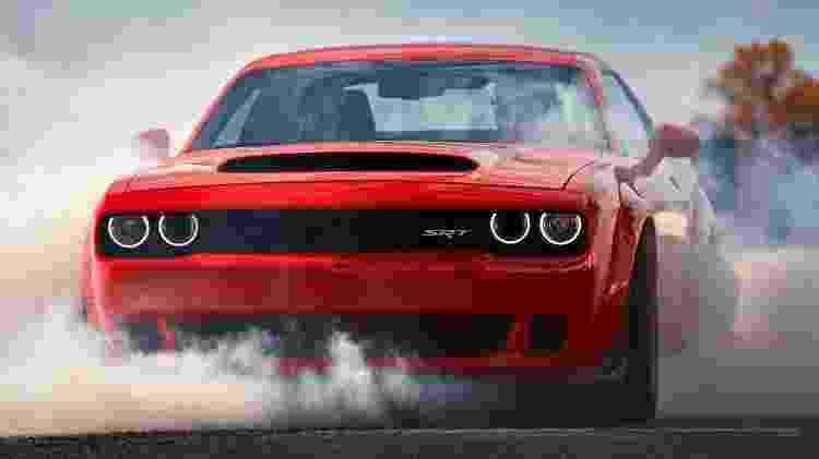 Dodge Challenger Burnout - Divulgação - Divulgação