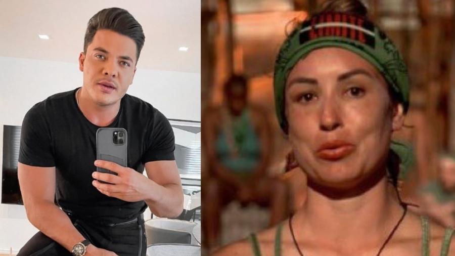 No Limite: Wesley Safadão tira sarro de erros com nome de Mahmoud - Reprodução/Instagram e Reprodução/Globoplay