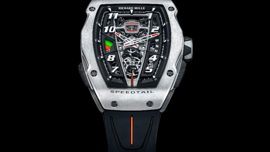 RM 40-01 Automatic Tourbillon McLaren Speedtail da Richard Mille - Divulgação