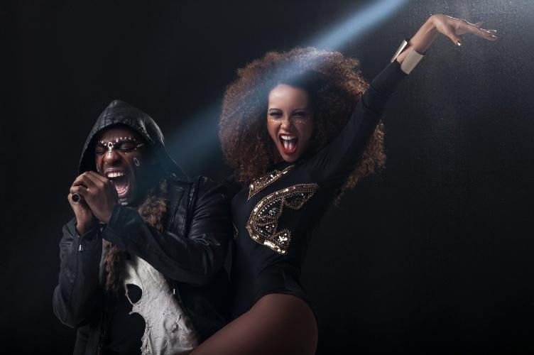 """Lázaro Ramos e Taís Araújo estão na série """"Mister Brau"""". Na trama, Lázaro é Brau, um superastro da música, e Taís é Michele, mulher, empresária e bailarina do artista"""