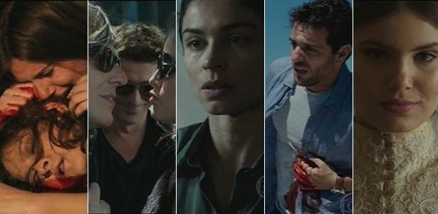 25.set.2015 - Angel chora ao ver a mãe morta; Anthony abandona Fanny; Larissa se convente, Alex morre; Angel se casa - Reprodução/TV Globo