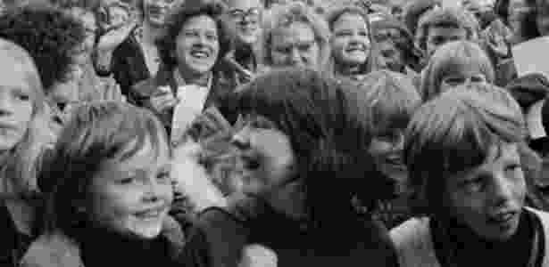 Milhares de mulheres participaram de atos por igualdade de direitos em 1975, na Islândia - Olafur K. Magnusson