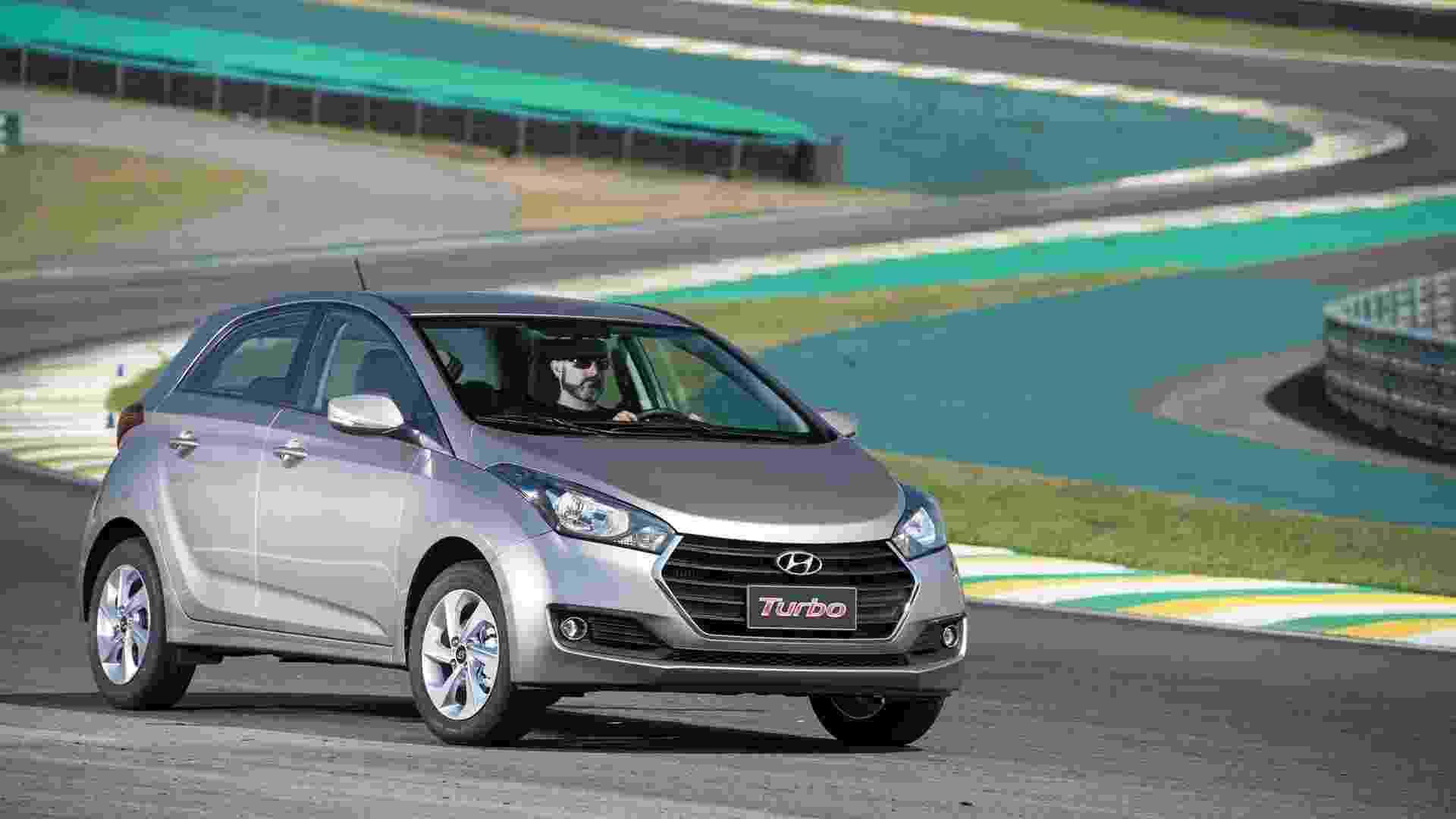 Hyundai HB20 Turbo 2017 - Divulgação