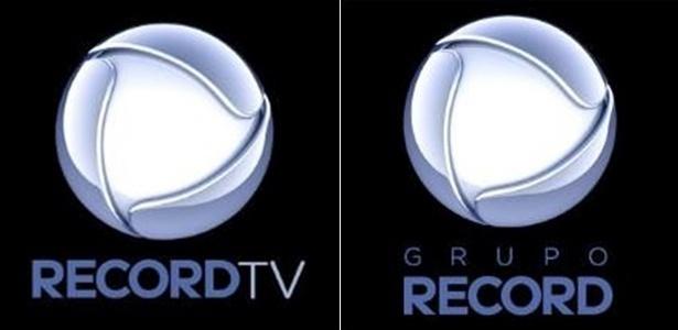 Novos logotipos da Record TV e do Grupo Record - Reprodução