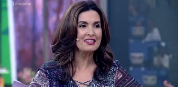 """Fátima defende torcida e diz que competição não é """"cerimônia religiosa"""" - Reprodução/TV Globo"""
