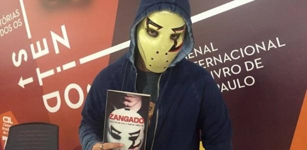 Biografia de Zangado foi lançada na 24ª Bienal do Livro, em São Paulo