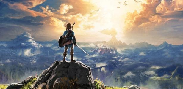 """Falta menos de um mês para a chegada do próximo e ambicioso jogo da série """"The Legend of Zelda""""! - Reprodução"""