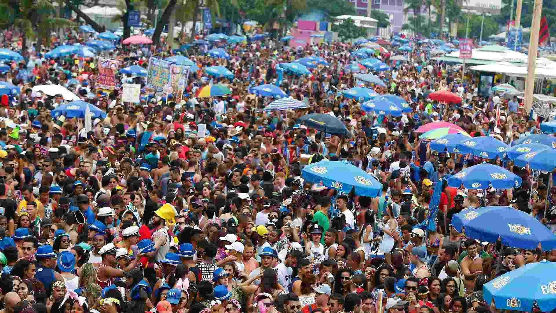 Bloco da Favorita é conhecido por reunir globais e por unir funk com marchinhas - Marcelo de Jesus/UOL