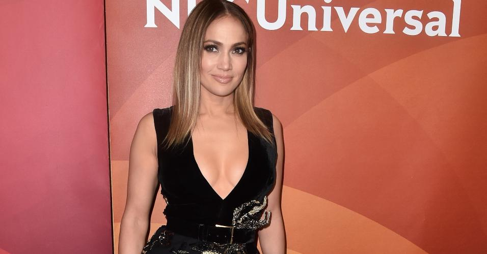 Jennifer Lopez NBCUniversal Summer Press Day
