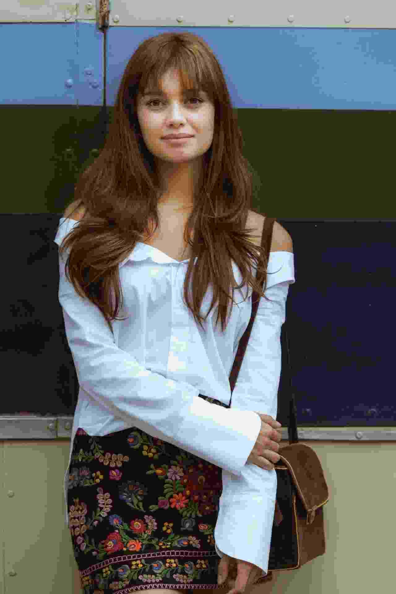 """Na série """"Os Dias Eram Assim"""", Sophie aparecerá com os fios bem mais compridos e repicados. Na trama ambientada nos anos 70, ela viverá a personagem Alice - Mauricio Fidalgo/TV Globo"""