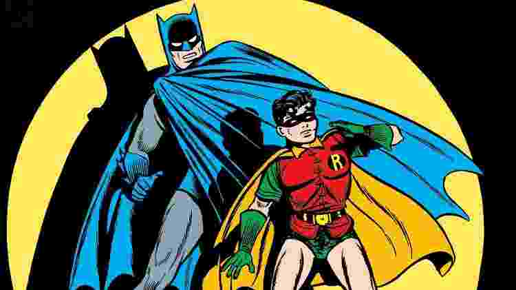 Finger continuou a expandir o universo do Homem-Morcego, incluindo a criação de seu companheiro Robin - Reprodução