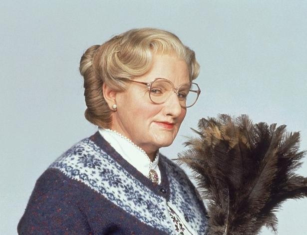 """Robin Williams em cena de """"Uma Babá Quase Perfeita"""""""