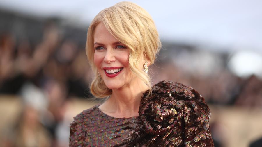 Nicole Kidman no SAG Awards, onde fez discurso contra o ageísmo - Getty Images