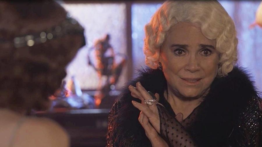 Lucerne se preocupa ao saber da relação entre José Augusto e Maria Vitória - Reprodução/Gshow
