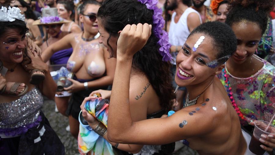 O bloco Sagrada Profana abriu o Carnaval de Belo Horizonte - Marcus Desimoni/Nitro/UOL