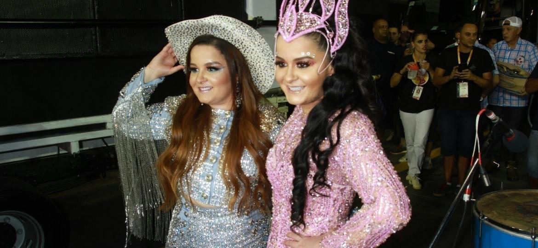Maiara e Maraisa participam do desfile da Rosas de Ouro - Amauri Nehn/Brazil News