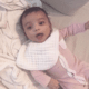 Kim Kardashian posta primeira foto mostrando rostinho da 3ª filha, Chicago - Reprodução/Instagram