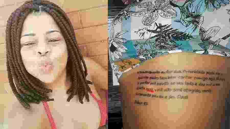 Tati Quebra Barraco faz tatuagem com erro de português - Reprodução/Instagram