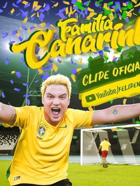 Felipe Neto lançou clipe especial para a Copa - Instagram/Reprodução