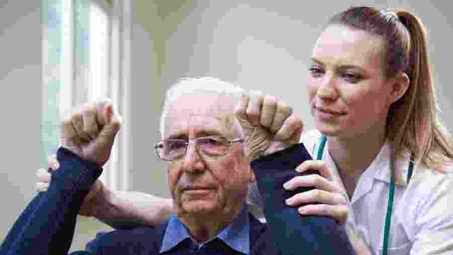 Os cientistas notaram uma melhora significativa na mobilidade do braço nos pacientes. - iStock