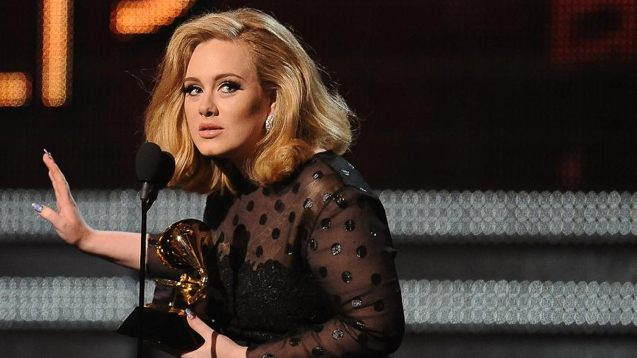 A cantora Adele - Robyn Beck/AFP/Getty Images