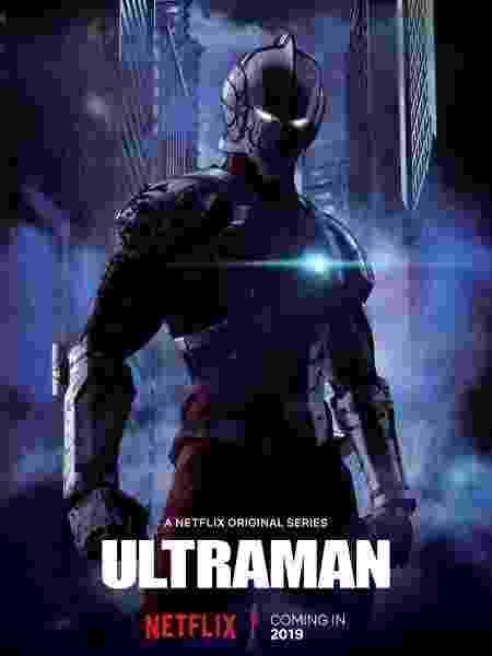 """Pôster do anime de """"Ultraman"""" na Netflix - Divulgação"""