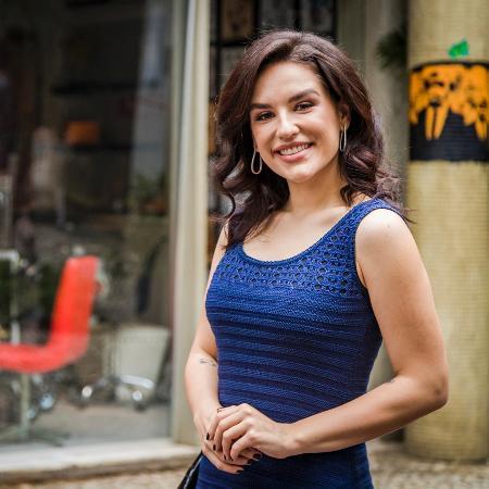 Kéfera é atriz e influenciadora digital com mais de 12 milhões de seguidores somente no Instagram - Paulo Belote/TV Globo
