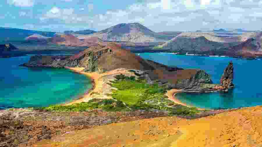 Ilha Bartolomé, em Galápagos, Equador - Getty Images/iStockphoto