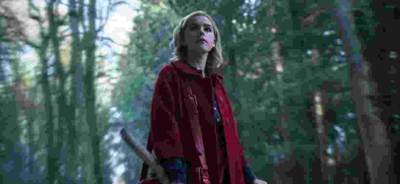 """Kiernan Shipka é a protagonista de """"O Mundo Sombrio de Sabrina"""", da Netflix - Diyah Pera/Netflix"""