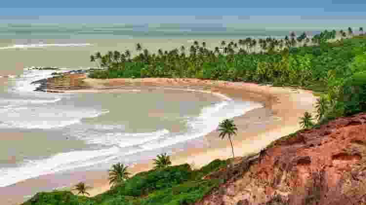 Praia do Coqueirinho, na Paraíba - Getty Images/iStockphoto - Getty Images/iStockphoto
