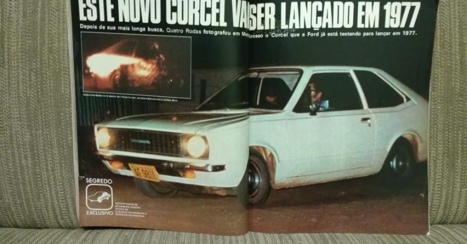 Ford Corcel II flagra Larangeira