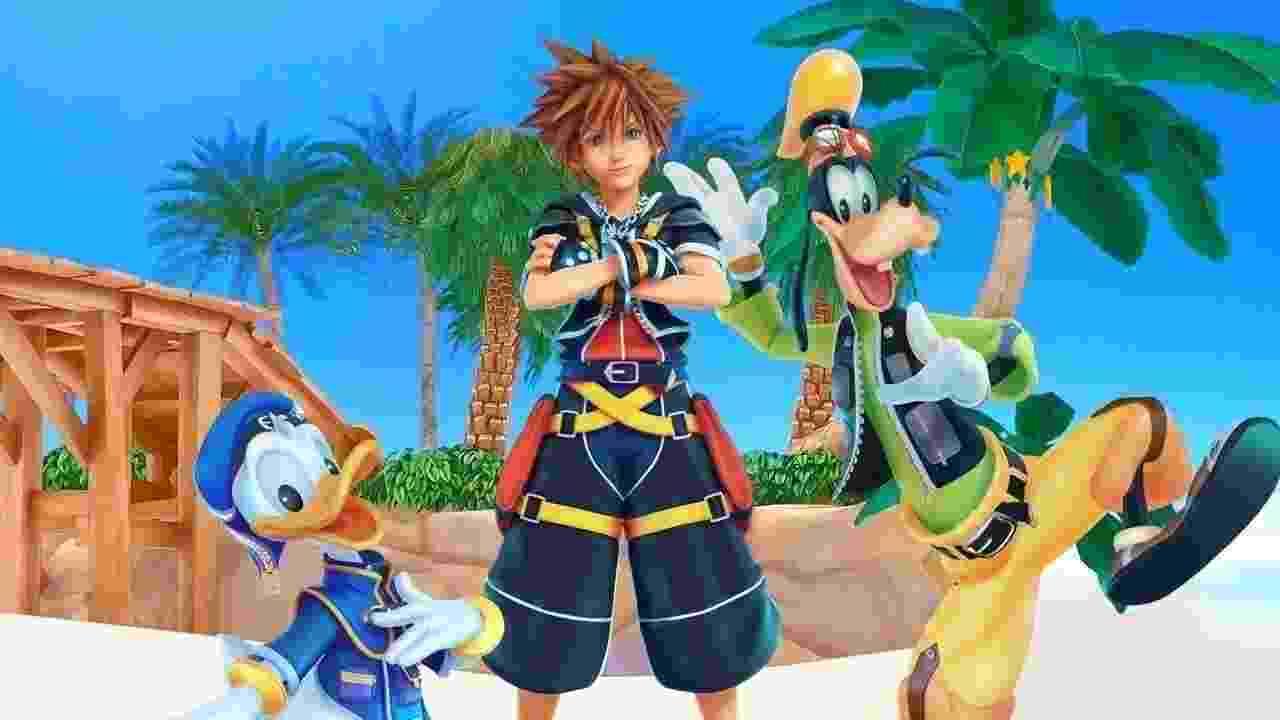 Kingdom Hearts - Reprodução