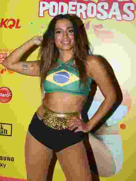 Anitta se apresenta no pós-Carnaval de São Paulo com o Bloco das Poderosas - Marcello Sá Barreto/Brazil News
