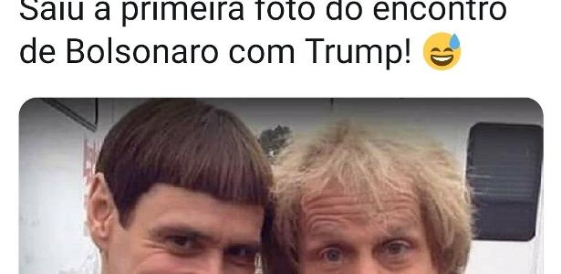 Encontro de Bolsonaro e Trump divide opiniões na web