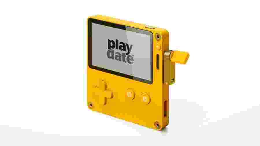 O portátil Playdate deve ser lançado em 2020, com jogos mais simples em formato de temporadas - Divulgação