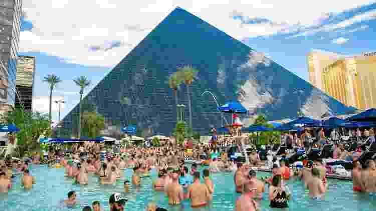 Festa da piscina Temptation Sundays - Divulgação/MGM Resorts - Divulgação/MGM Resorts