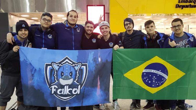 Falkol fez bootcamp na Coreia do Sul em 2018 - Reprodução