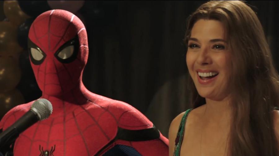 """Cena de """"Homem-Aranha: Longe de Casa"""", que ganha sequência em 2021 - Reprodução"""