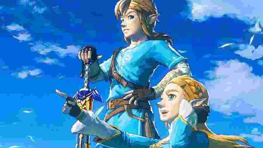 O Nintendo Switch está cheio de jogos da série Zelda - Reprodução