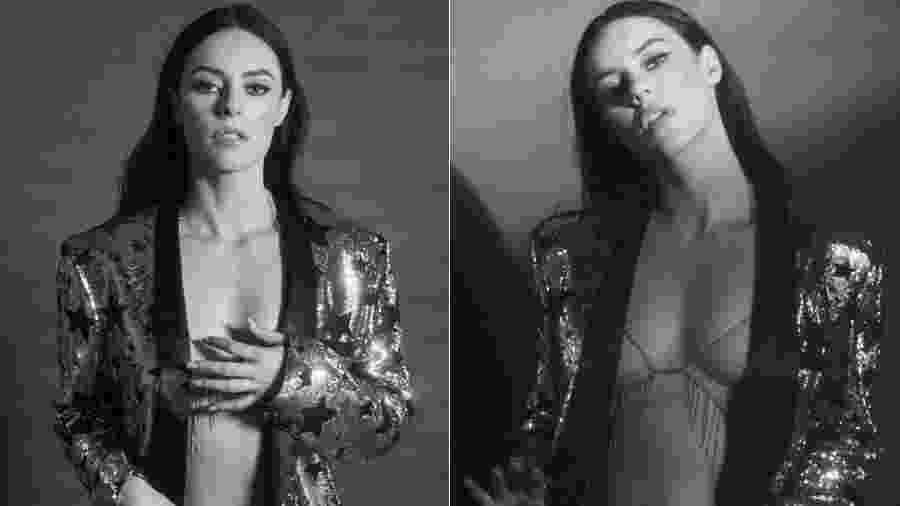 Paolla Oliveira na pele de Vivi Guedes em ensaio sexy - Reprodução/Instagram