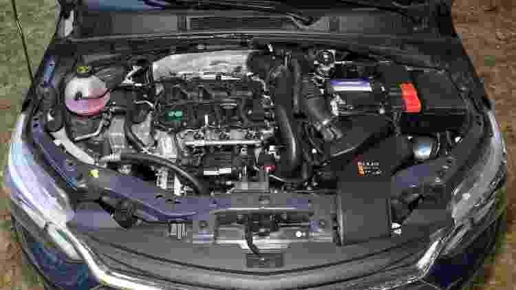 Motor do Onix chinês traz injeção direta de combustível e traz desempenho ainda melhor que o brasileiro (foto) - Murilo Góes/UOL