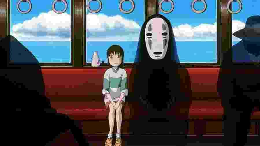 Cena de A Viagem de Chihiro (2001) - Divulgação/IMDb